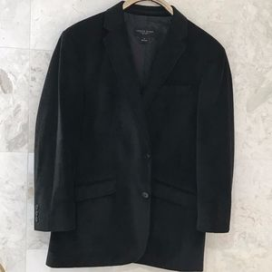 PRONTO UOMO {L} Sport Coat Jacket Velvet Black